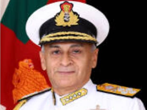 Admiral Sunil Lanba embarks on five-day visit to Sri Lanka