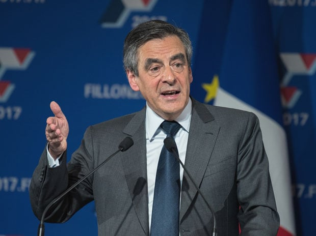 Former French prime minister Francois Fillion. Photo: Shutterstock