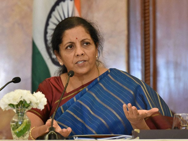 Union Minister Nirmala Sitharaman. Photo: PTI