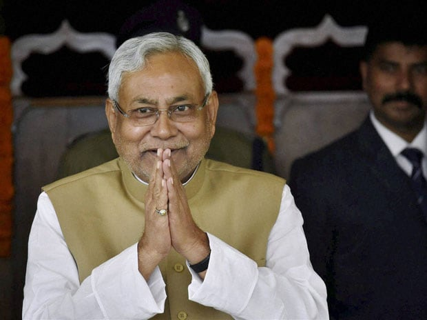 Bihar Chief Minister Nitish Kumar. Photo: PTI