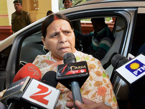 Former Bihar Chief Minister Rabri Devi. Photo: PTI
