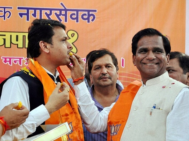 Devendra Fadnavis, Maharashtra civic poll, Ravsaheb Danve