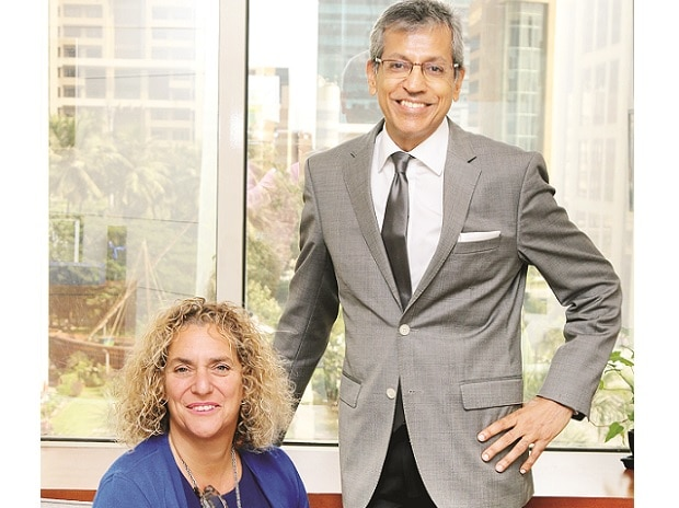 J Walter Thompson's Global Chief Executive Officer Tamara Ingram & South Asia CEO Tarun Rai