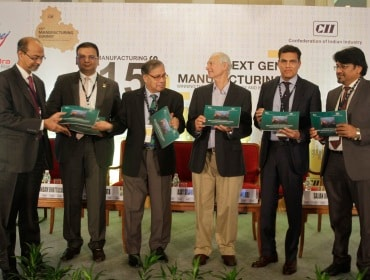 CII Manufacturing Summit in Mumbai
