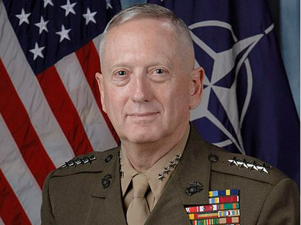 US Defence Secretary James N Mattis. Photo: en.wikipedia.org