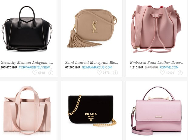 6c81fdaa90d3 Handbags by Gucci, Chanel, Fendi and Givenchy were searched extensively