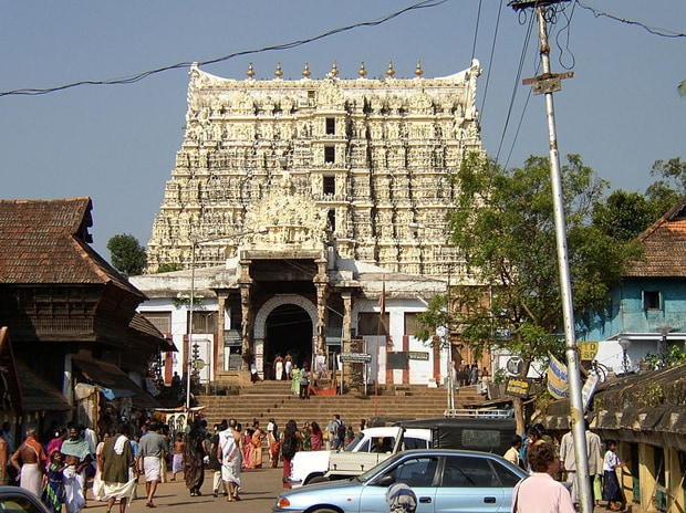 Sri Padmanabhaswamy Temple Photo: commons.wikimedia.org