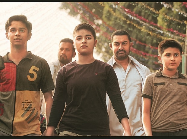 The cast of Dangal