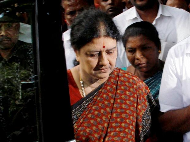 J Jayalalithaa's close aide V K Sasikala (Photo: ...