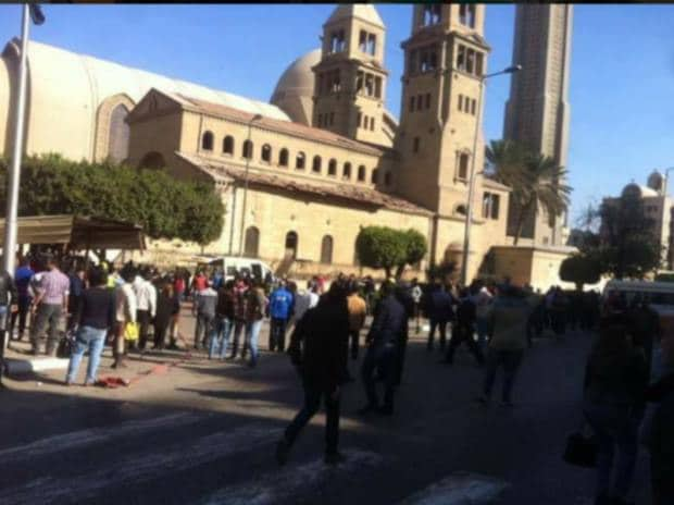 Egypt's main Coptic Christian cathedral in Cairo. Photo: Twitter
