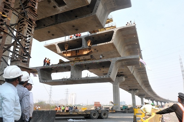 Tata Realty & Infrastructure slowing on road ...