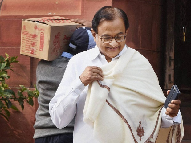 Former finance minister and senior Congress leader P Chidambaram. Photo: PTI
