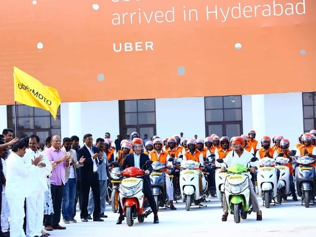 uber, motorcycle, cab, ride