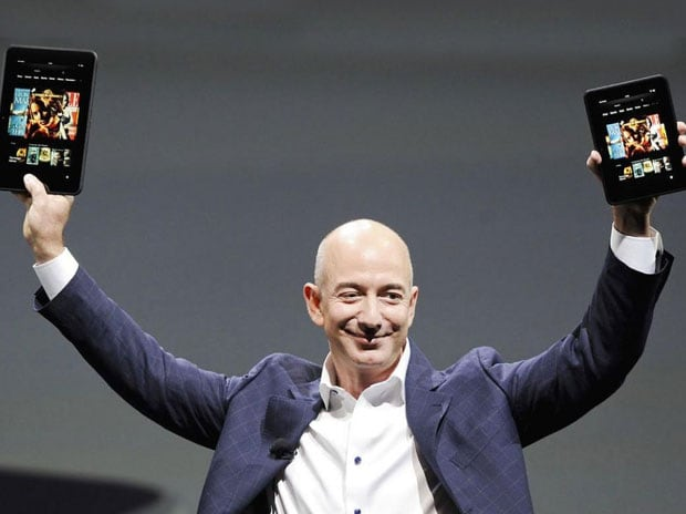 Amazon founder Jeff Bezos is now worth $100 billion