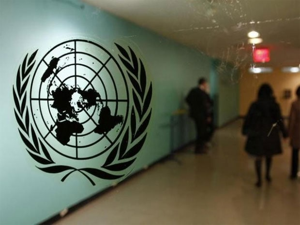 United Nations logo. Photo: Reuters