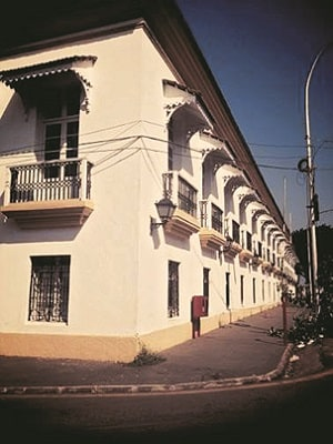 The Adil Shah Palace in Goa, which has been reinvented as an arts space and is the central venue for the Serendipity Arts Festival