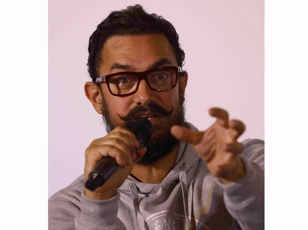 Bollywood star Aamir Khan. Photo: PTI