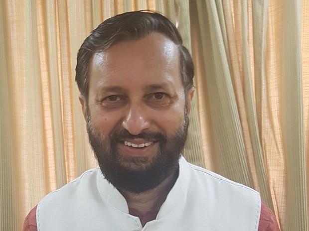 Prakash Javadekar, Union HRD Minister