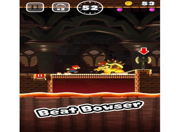 Super Mario, Beat Bowser