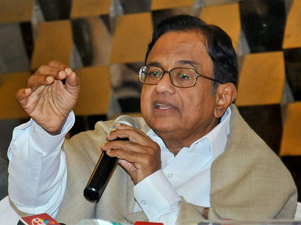 Congress leader P Chidambaram. Photo: PTI