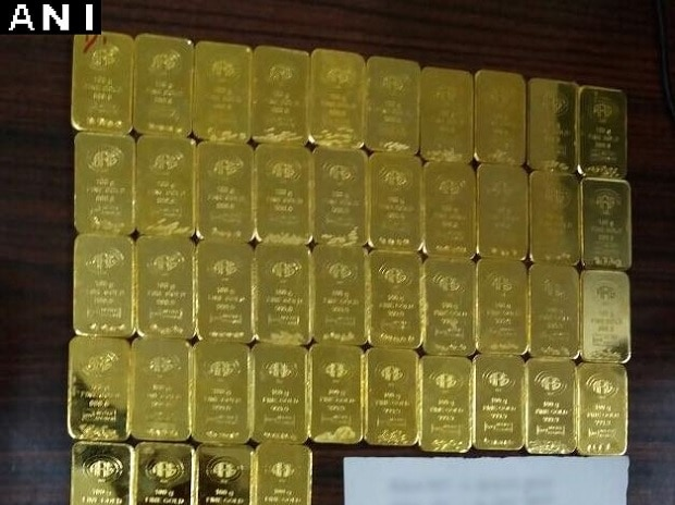 Gold seized by DRI in Chennai