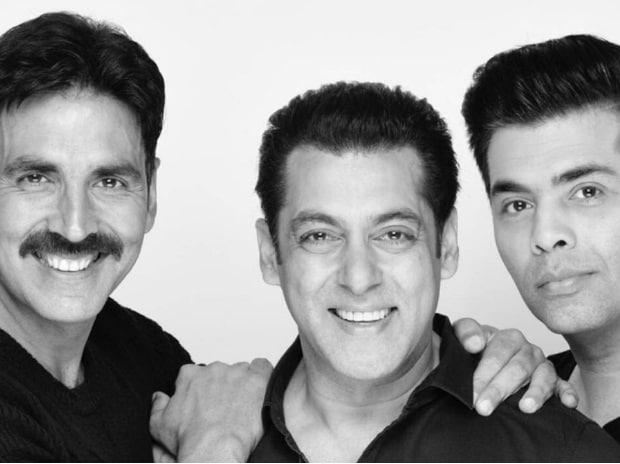Akshay Kumar, Salman Khan & Karan Johar