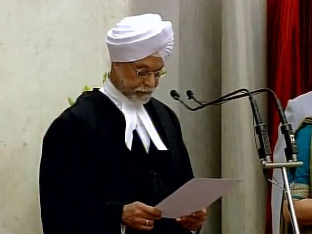 Justice Jagdish Singh Khehar sworn in as the Chief Justice of India