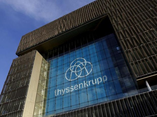 Thyssenkrupp's home state in favour of Tata Steel tie-up