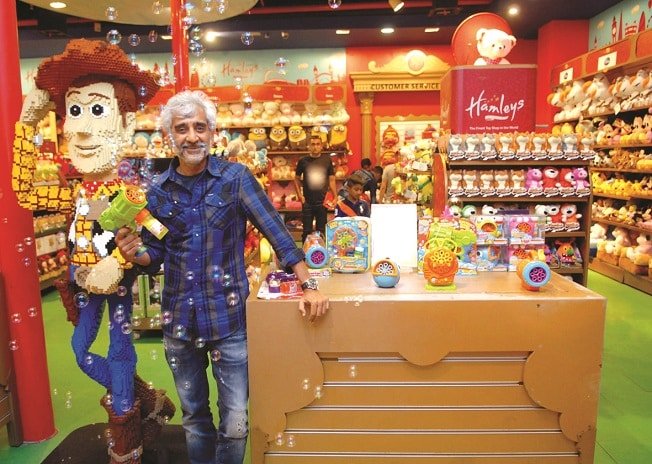 Reliance Brands CEO Darshan Mehta says that Hamleys will open 16 new stores by the end of 2017. Photo: Kamlesh  Pednekar