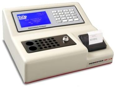 Tulip Diagnostics' automated haemostasis analyser HemostarXF