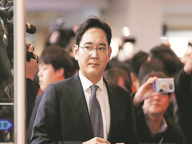 Samsung President Jay Y Lee confirmed that Korea's largest conglomerate provided a one-billion won horse used for equestrian lessons by Choi Soon-sil's daughter. Photo: Reuters