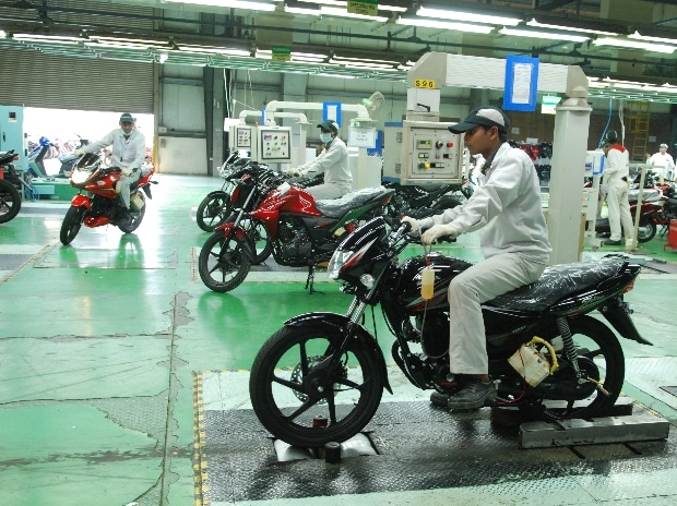 Two-wheelers magnify automobile sales fall last month