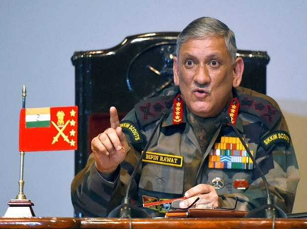 Army Chief Bipin Rawat warns Pakistan