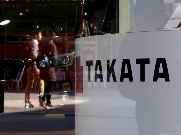 Logo of Takata. Photo: Reuters