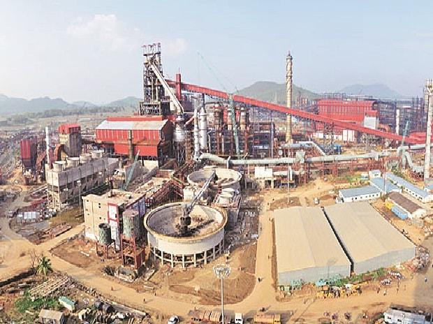 Tata Steel's Kalinganagar plant (pictured) was conceived  in 2005-2006 but work was delayed owing to land acquisition problems and could start only in 2010