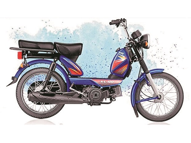 Mopeds ride high in a shrinking market, bring 35% volume for TVS Motor