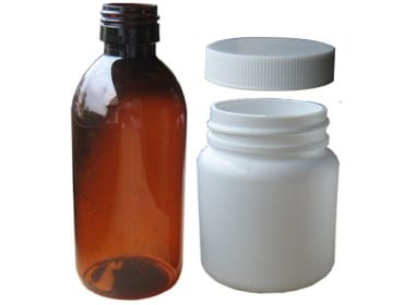Plastic packaging for pharmaceuticals