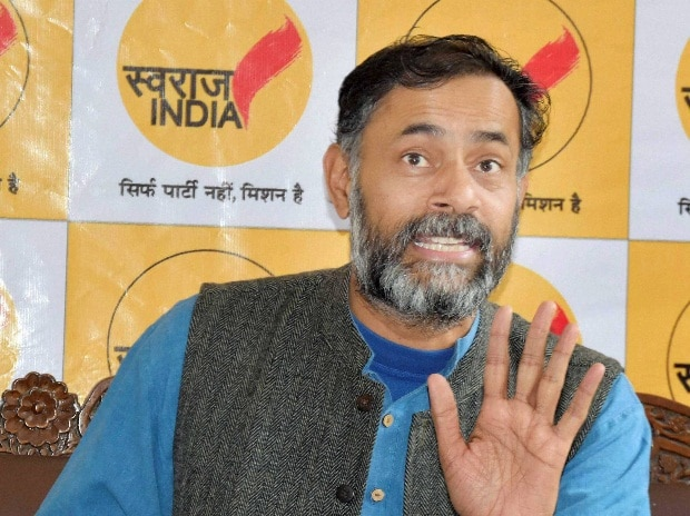 Yogendra Yadav, Swaraj India
