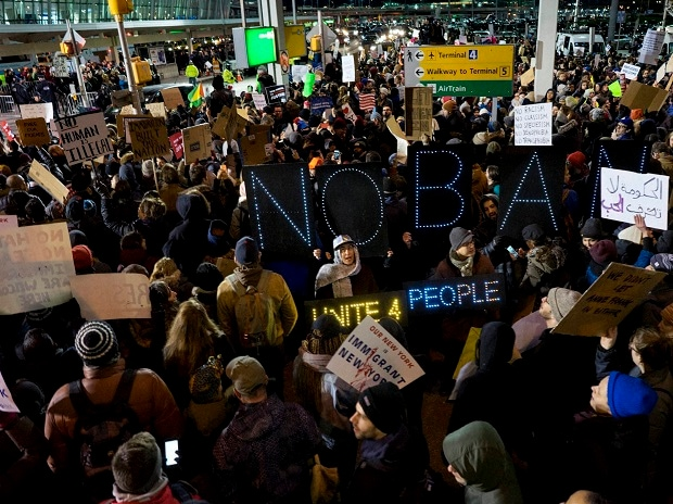 Worldwide Travel Ban Protests