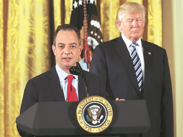 File photo of Reince Priebus, the former White House chief of staff. (Photo: Reuters)
