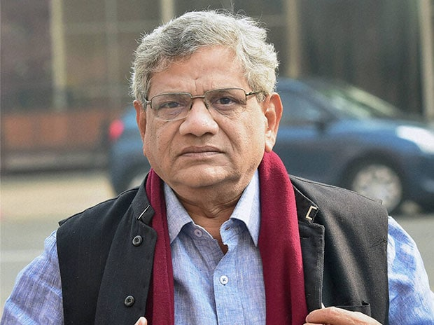 CPI-M leader Sitaram Yechury. Photo: PTI