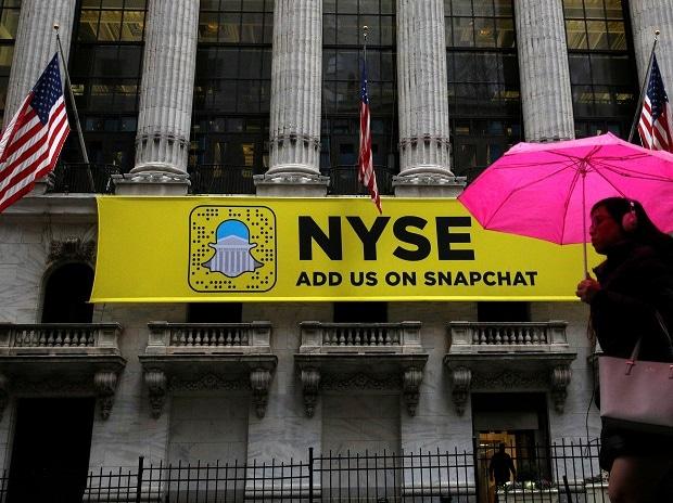 NYSE, Snapchat