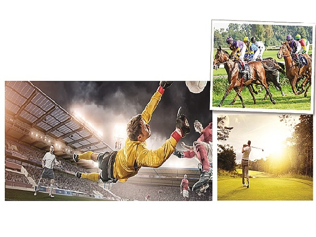 The network hopes to ride the country's growing interest in football and cash in on the poor coverage of sporting events in horse racing, motor sports and golf