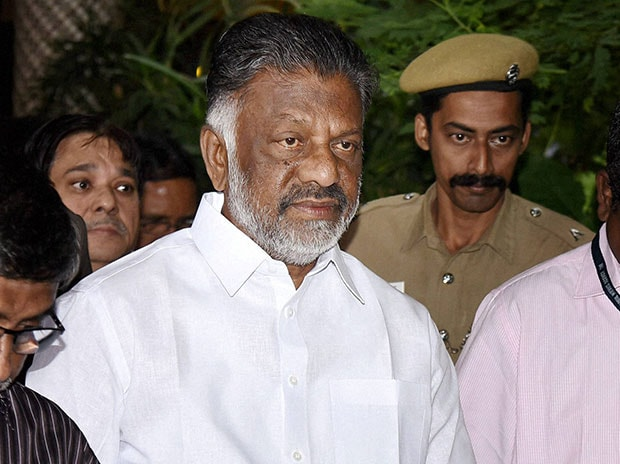 Tamil Nadu Chief Minister Panneerselvam. Photo: PTI