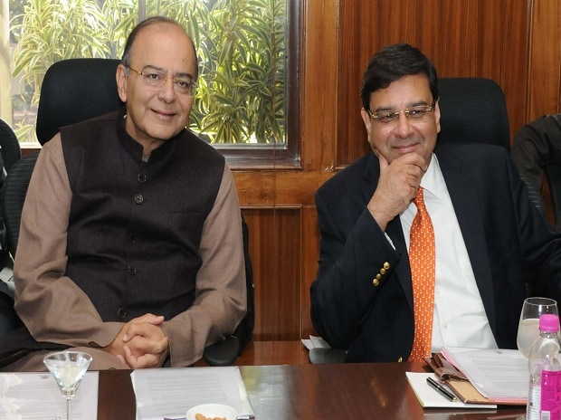 Finance Minister Arun Jaitley and RBI Governor Urjit Patel