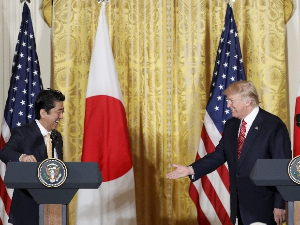Donald Trump, Shinzo Abe, White House, US, Japan