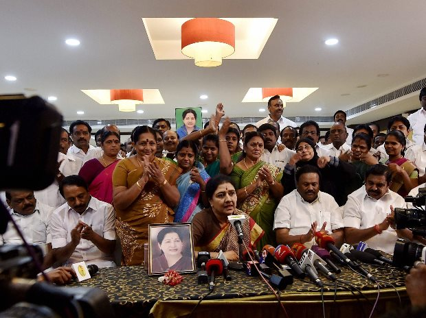 Image result for VK Sasikala flooded with hate mail in jail, Incarcerated AIADMK leader VK Sasikala