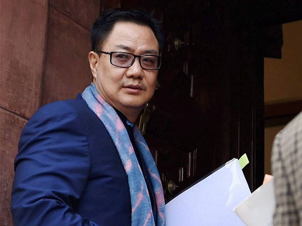 Minister of State for Home Affairs Kiren Rijiju. Photo: PTI