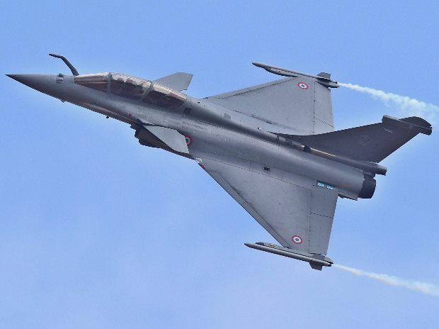 A Rafale fighter aircraft. File photo: PTI