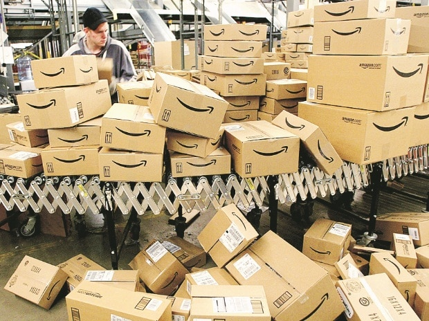 Amazon, worker, shipping